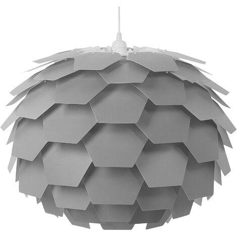 Lámpara de techo gris grande SEGRE