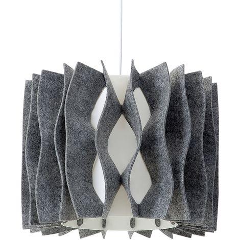 Lámpara de techo gris MOZA