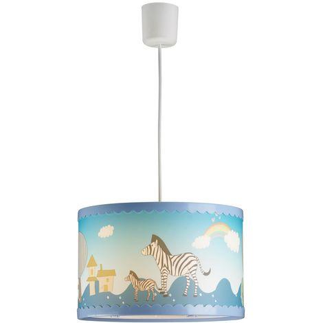 Lámpara de techo infantil Cebras