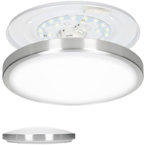 Lámpara de techo LED 12W luz del panel slim plafón panel luz techo blanco cálido