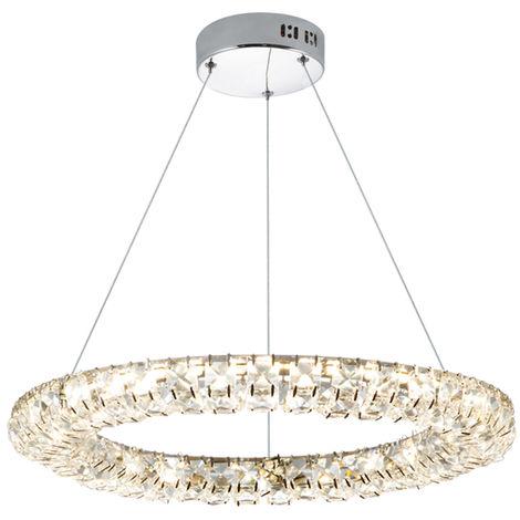 Lámpara de Techo LED 24W Circle Bright con Mando a Distancia 3000+4000+6000 | IluminaShop