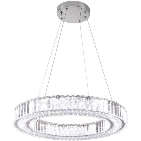 Lámpara de Techo LED 30W Gelang con Mando a Distancia 3000+4000+6000 | IluminaShop