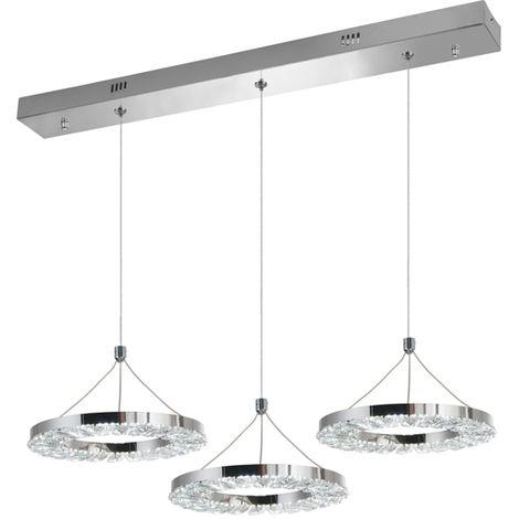 Lámpara de Techo LED 30W Hoosta con Mando a Distancia 3000+4000+6000   IluminaShop