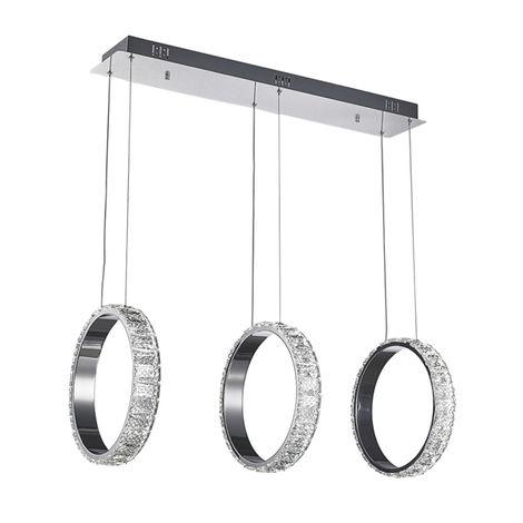 Lámpara de Techo LED 54W Ring 3 con Mando a Distancia 3000+4000+6000 | IluminaShop