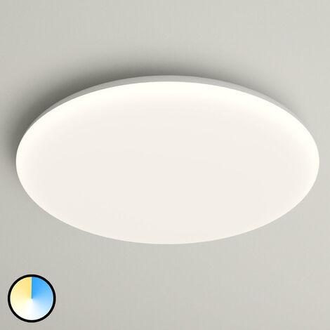 Lámpara de techo LED Azra blanco IP54 Ø 40 cm