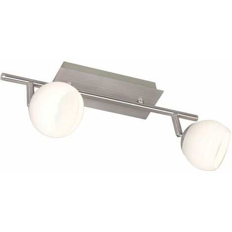 Lámpara de techo LED, barra de foco, luz de vidrio ajustable, iluminación de sala de estar, WOFI 7535.02.64.0000