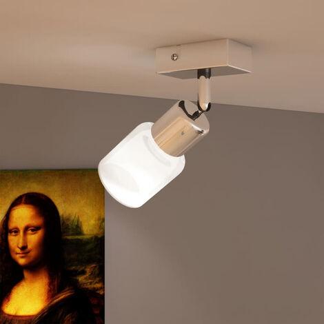Lampara de techo LED con un foco de vidrio integrado