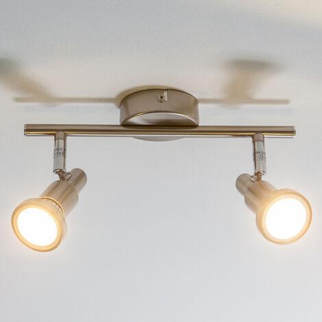Lámpara de techo LED de 2 focos Aron