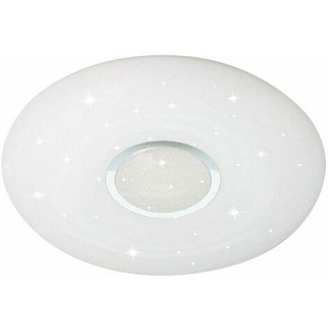 Lámpara de techo LED de diseño de cristal CONTROL REMOTO Lámpara de temporizador de efecto de estrellas DIMMABLE V  -Tac 1491