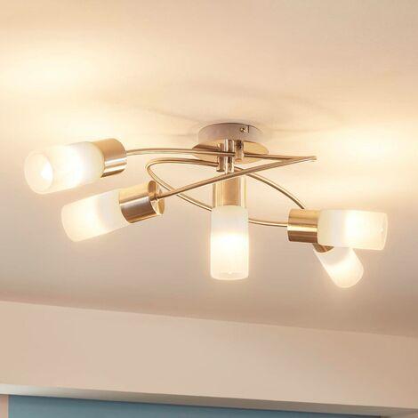 Lámpara de techo LED Erva atenuable, 5 brazos