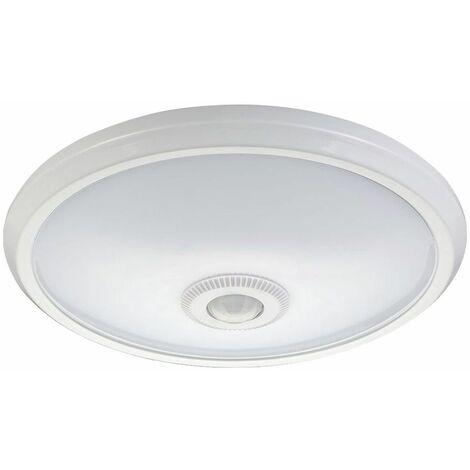 Lámpara de techo LED escaleras blancas casa sensor de movimiento de iluminación ALU pasillo lámpara redonda vtac5058