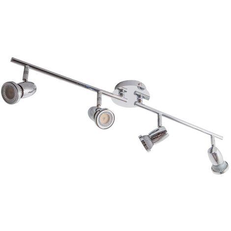 Lámpara de techo LED GU10 de 4 brazos Arminius