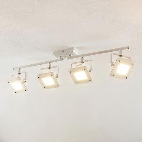 Lámpara de techo LED Juliana, regulable, 4 focos