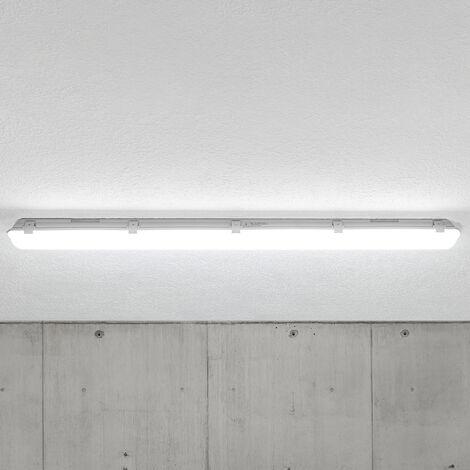 Lámpara de techo LED Mareen IP65 17W 121,5cm