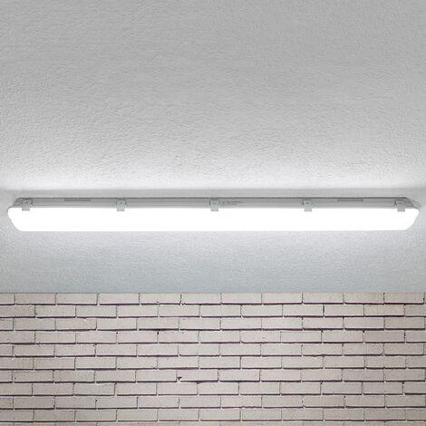 Lámpara de techo LED Mareen IP65 34W 121,5cm