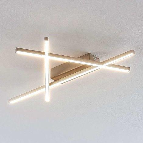 Lámpara de techo LED Mikada futurista 57 x 33,5cm