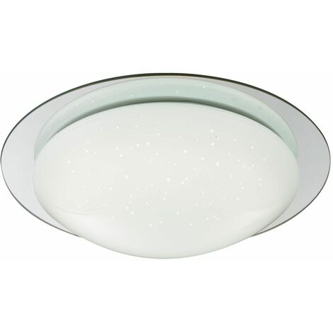 Lámpara de techo LED para pasillo CCT reflector efecto estrella luz de espejo CONTROL REMOTO Globo 48377-18