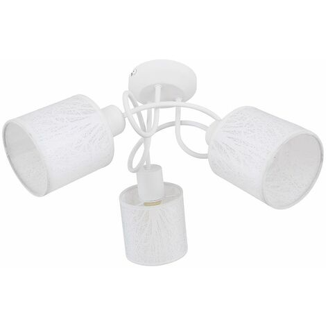 Lámpara de techo LED RGB inteligente, árbol de cocina, punto de luz textil, aplicación de voz roundel, controlable a través del teléfono móvil