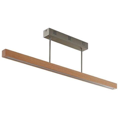 Lámpara de techo LED Tamlin madera, haya, 100 cm