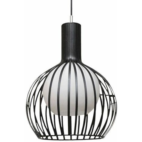 Lámpara de techo Negra Carol Negro | IluminaShop