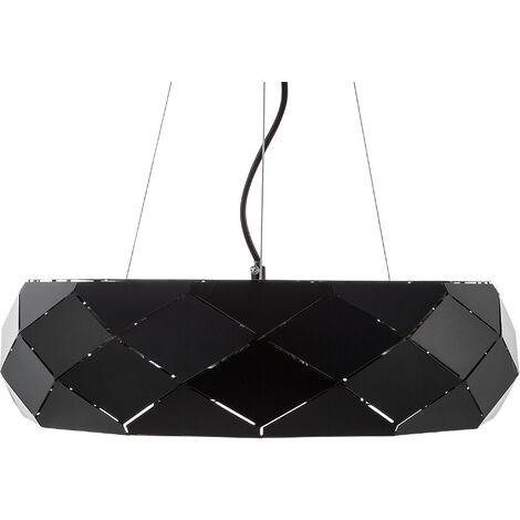 Lámpara de techo negra CESANO