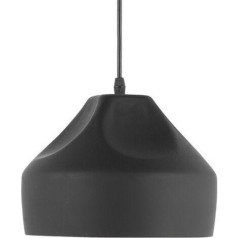 Lámpara de techo negra EVINOS