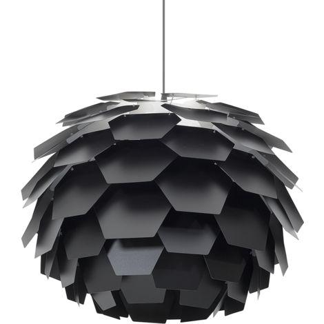 Lámpara de techo negra grande SEGRE