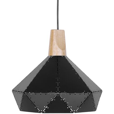 Lámpara de techo negra SOMME