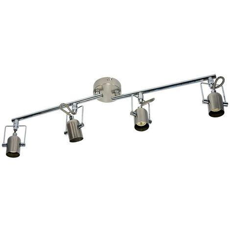 """Lámpara de techo orientable articulada """"NEXUS-4"""" GU10"""