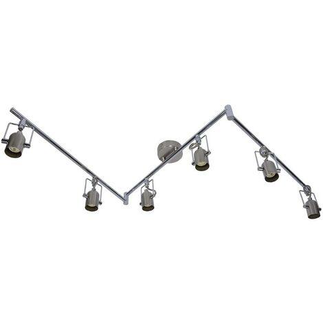 """Lámpara de techo orientable articulada """"NEXUS-6"""" GU10"""