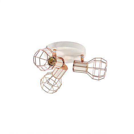 "Lámpara de techo orientable jaula ""AZOR-3"" E14"