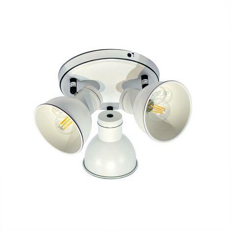 """Lámpara de techo orientable """"SKRIVE"""" 3 focos E14"""