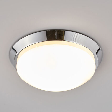Lámpara de techo para baño Dilani, diseño circular