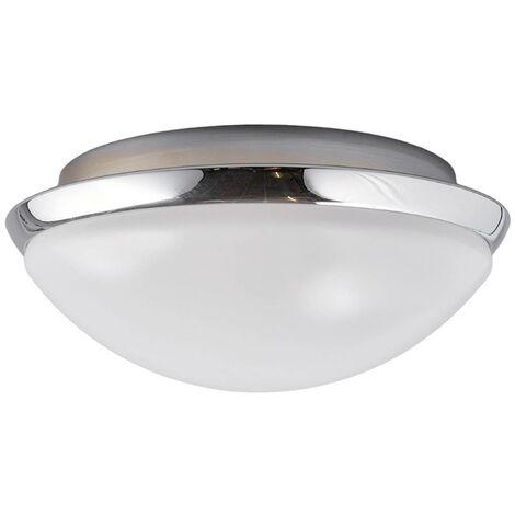 Lámpara de techo para baño Mijo borde cromado IP44