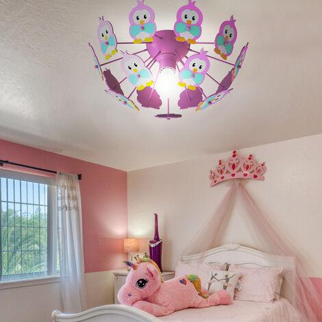 Lámpara de techo para habitación de juegos para niños Lámpara de techo para buzos con diseño de bombillas LED