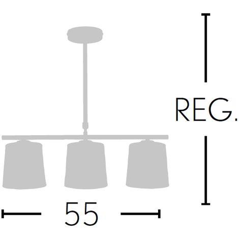 Lámpara de techo Poema (3 luces)