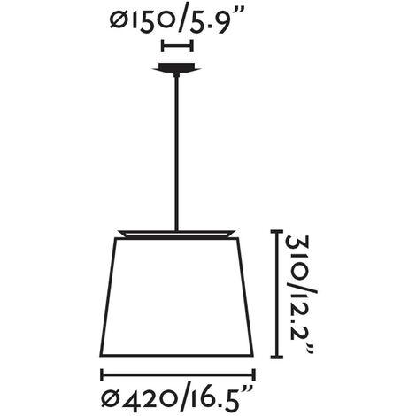 Lámpara de techo Savoy