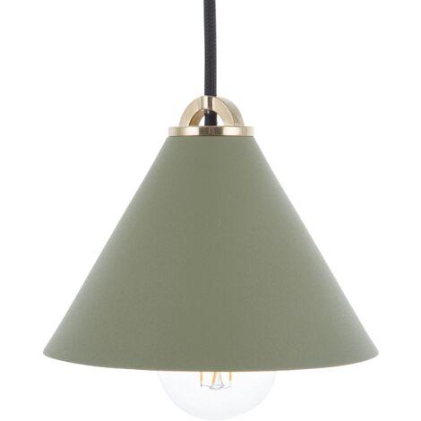 Lámpara de techo verde ARAGON
