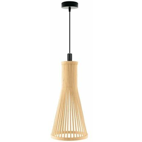 Lámpara de Techo Yangon Negro / Marrón | IluminaShop