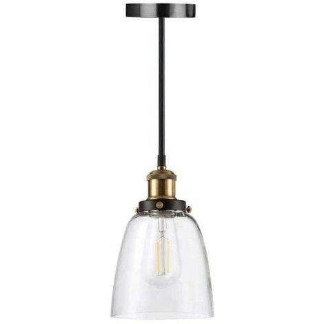 Lámpara de vidrio para colgar con bombilla LED retro Filamento XXCELL - E27