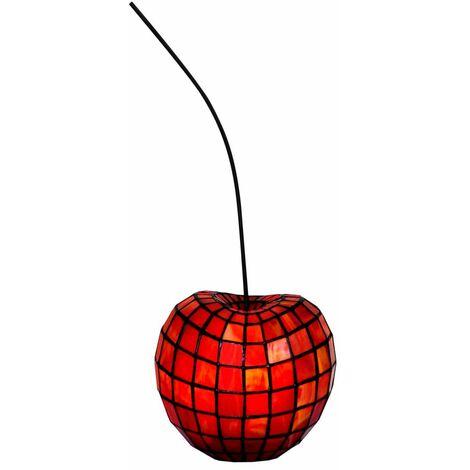 Lámpara decorativa Tiffany Cherry cm 20x18x16 Artedalmondo AY58200