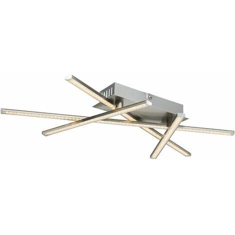 lámpara del dormitorio de la luz de techo 20 vatios focos LED brillo de aluminio ajustable Globo 67084-20
