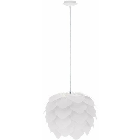 lámpara del dormitorio iluminación de la lámpara de techo de acero blanco Lámpara colgante Eglo Filetta 92888