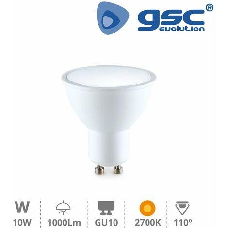Lámpara dicroica 10W GU10 2700K