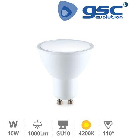 Lámpara dicroica 10W GU10 4200K