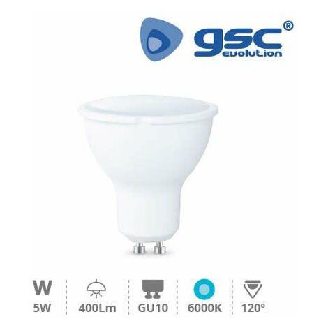 Lámpara Dicroica LED 5W SMD GU10 6000K 230V