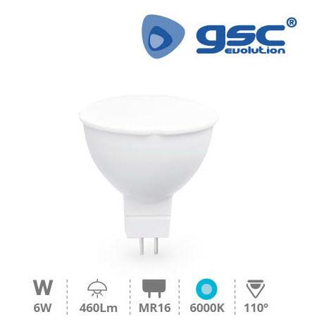 Lámpara Dicroica LED 6W SMD MR16 6000K 12V