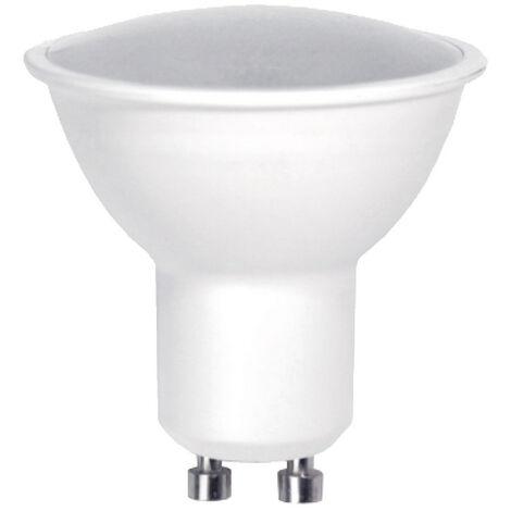 Lámpara dicroica Led Eco GU10 6W 4000°K 120° 510Lm 49x49mm. (F-Bright Eco 2602969)