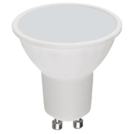 Lámpara dicroica Led GU10 7W 6000°K 590Lm 100° (Duralamp 28660)