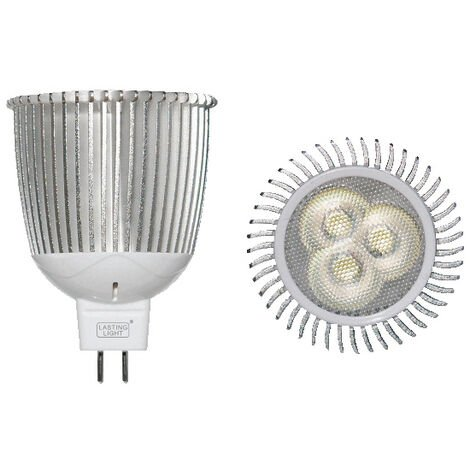 Lámpara dicroica Led MR16 GU5,3 7W 3000°K 235Lm 45° 50x59mm. (B&F 119019-7C3)
